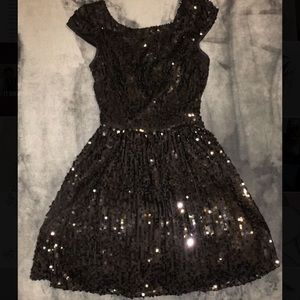 Black and gold dresses
